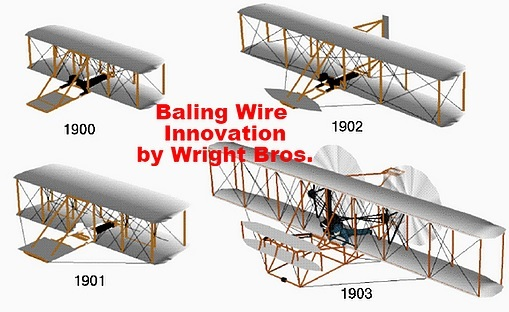 The Wright Bros. Used Baling Wire